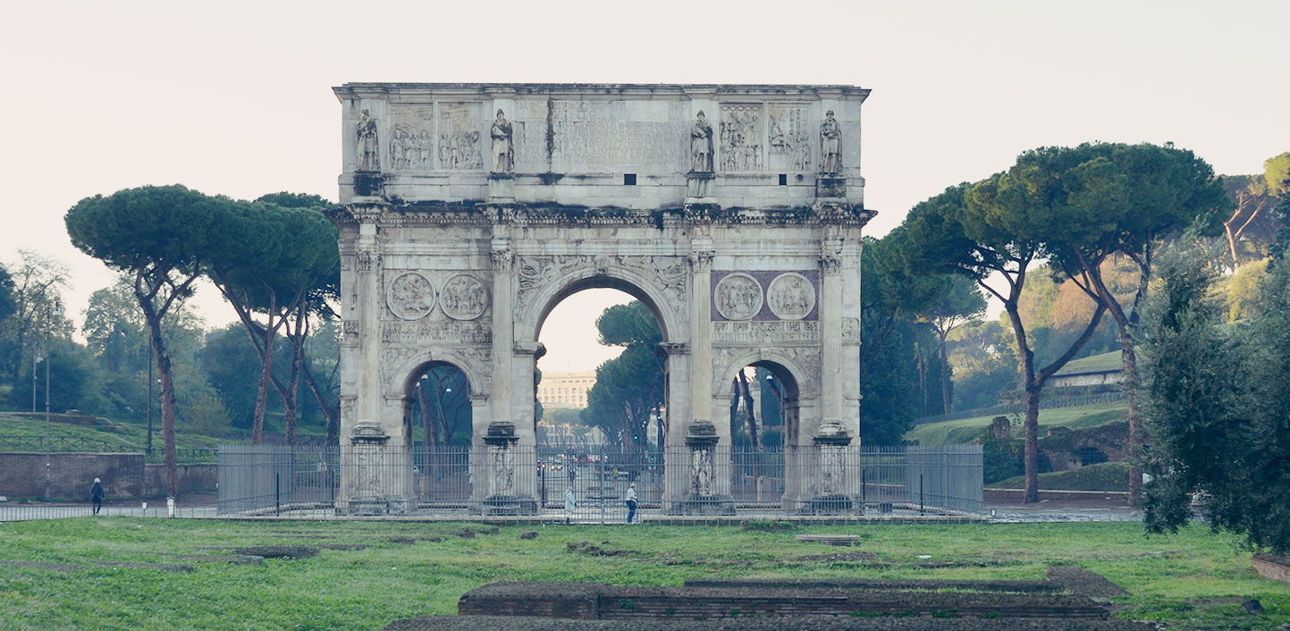 A window onto the Arch of Constantine. Wednesday livestreams from the PArCo.