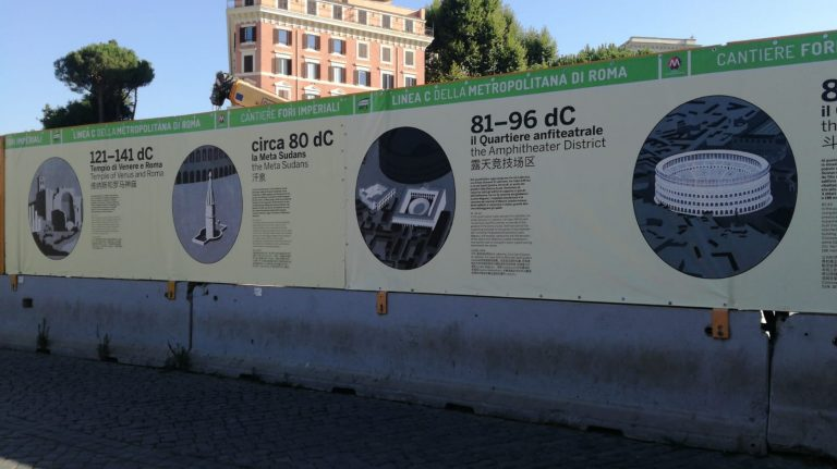 The history of Piazza del Colosseo, on view in 14 steps from the Imperial Age to today