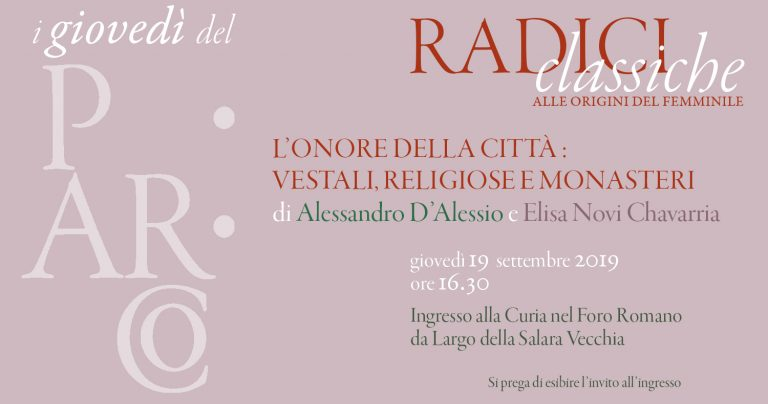 """""""Classical roots: origins of the feminine"""". Announcing the first date of the latest lecture series"""