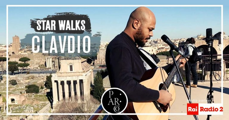 """Clavdio at the PArCo for the second episode of the web series """"Star Walks: when the PArCo meets music"""""""
