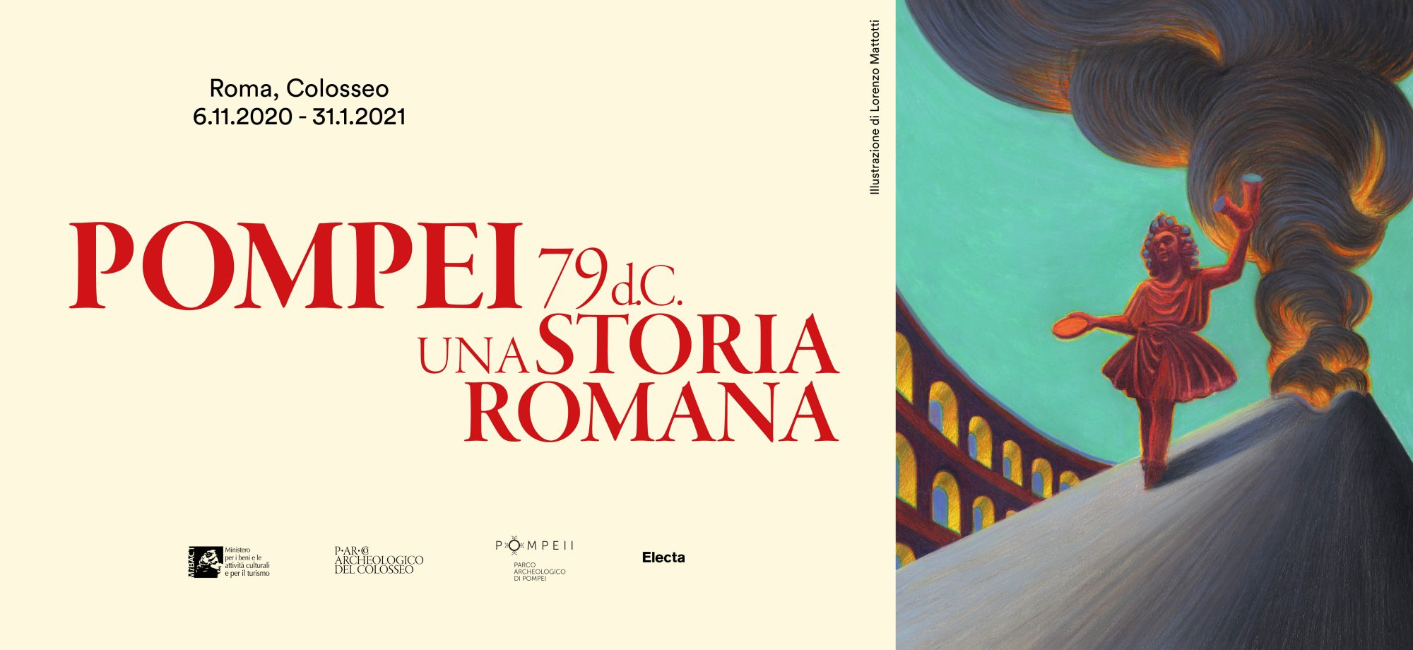 "Exhibition ""Pompei 79 d.C. Una storia romana"" at the Colosseum until 31 January 2021"