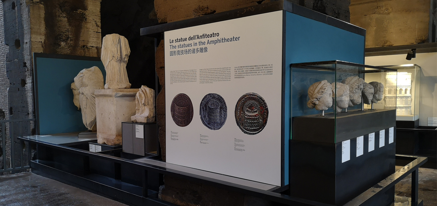 The Colosseum tells its story: one-on-one with the collection