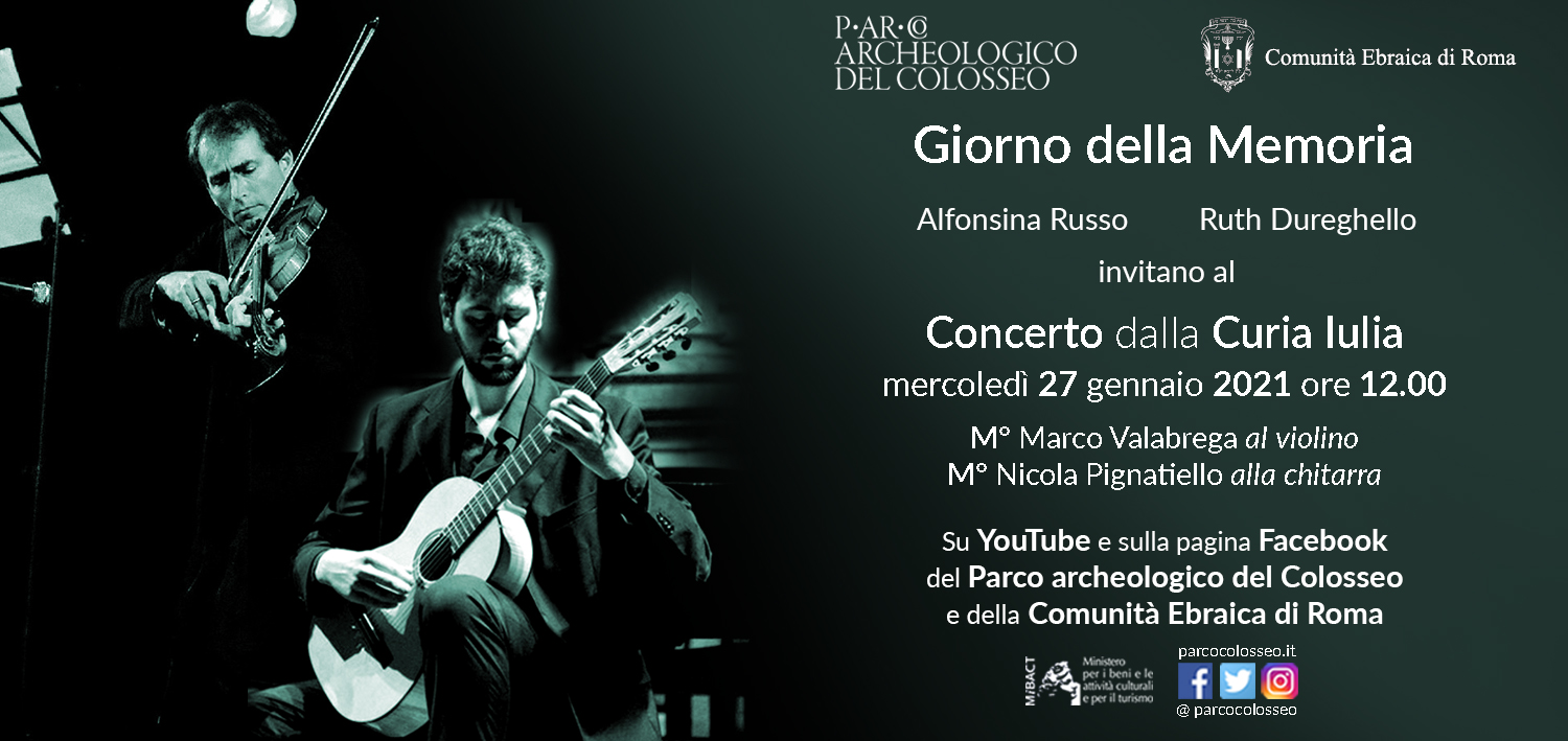 International Holocaust Remembrance Day. Online concert from the Curia Julia