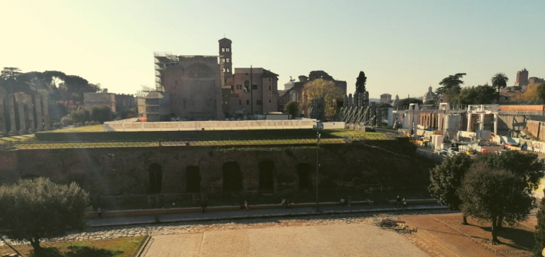 The Temple of Venus and Roma. Wednesday livestreams