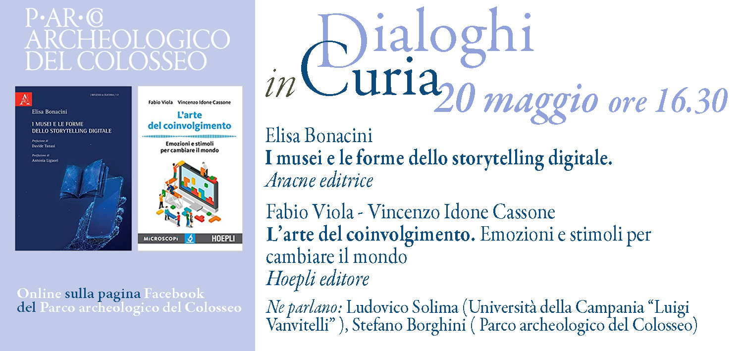 """""""Conversations in the Curia"""" – Digital storytelling and the art of engagement"""